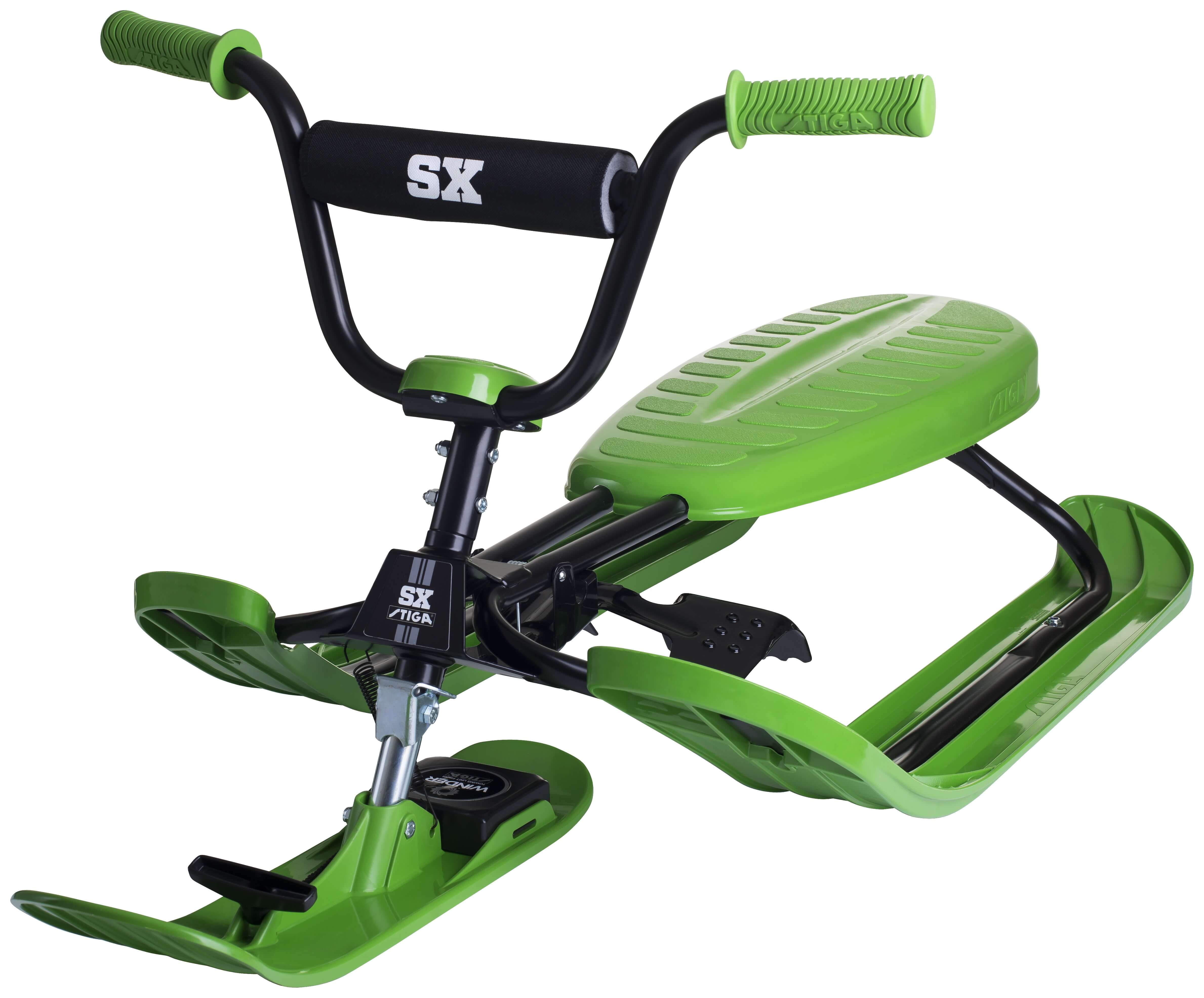 Läs mer om Snowracer SX PRO Grön