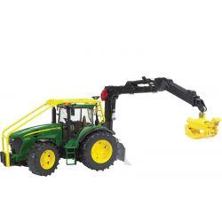 Traktor John Deere 7930 med kran. Bruder. 1:16