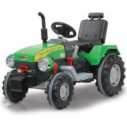 Eltraktor Power Drag med extra stark motor. 12 volt.