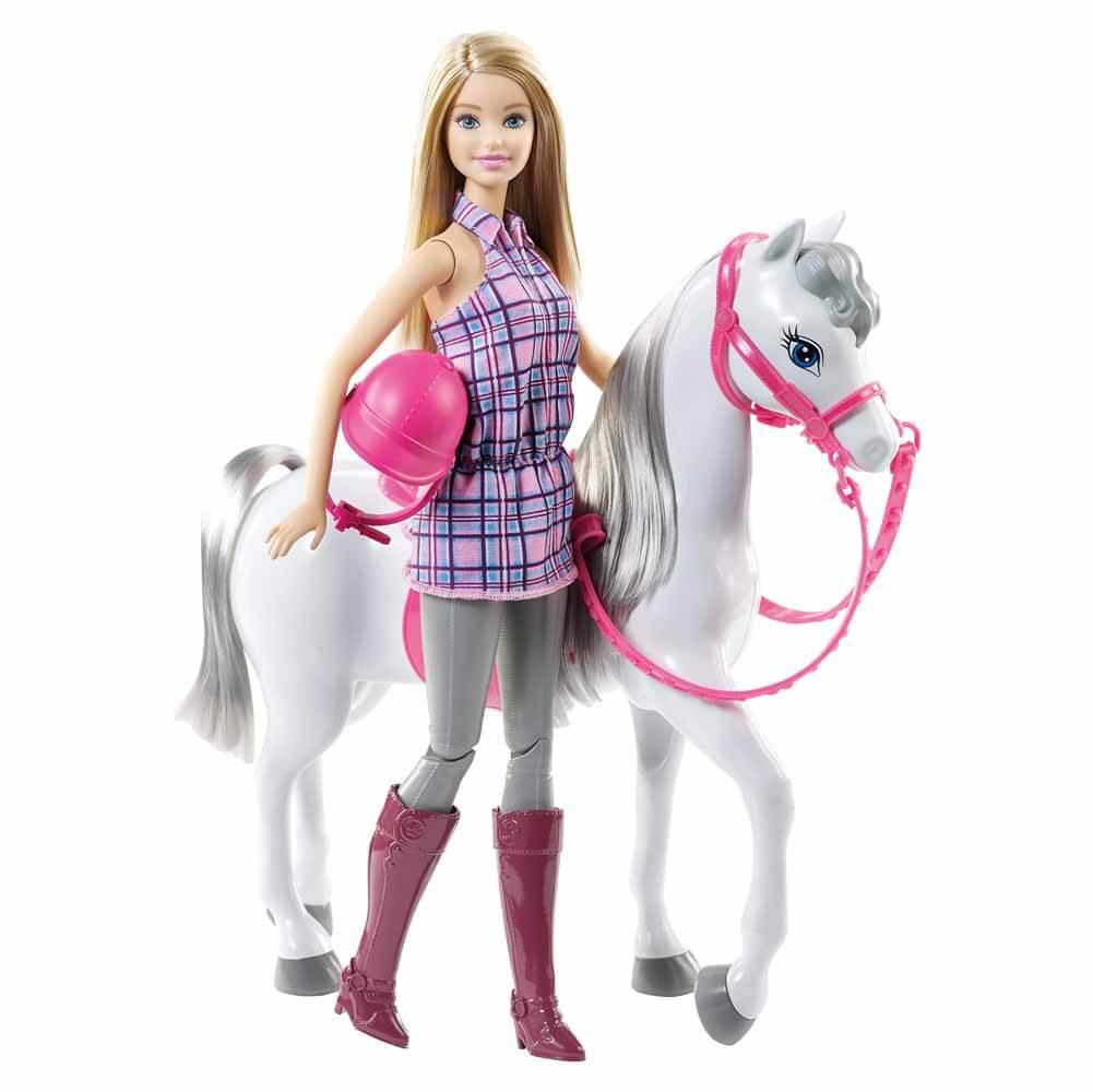 Barbie Docka med Häst Mattel DHB68
