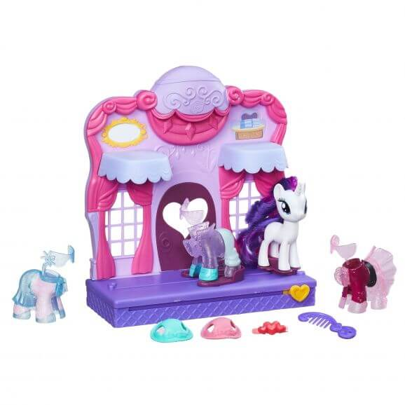 My Little Pony Rarity Fashion Runway Playset Mer information kommer snart.