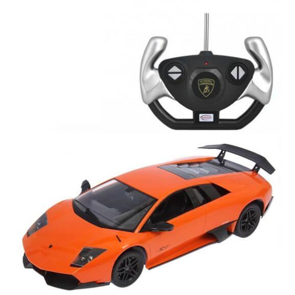 Radiostyrd Bil Lamborghini Murcielago LP670-4 SV Rastar Orange 1:10