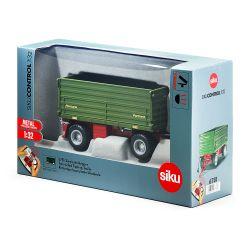 Siku Radiostyrd Traktorvagn Tippsläp 1:32