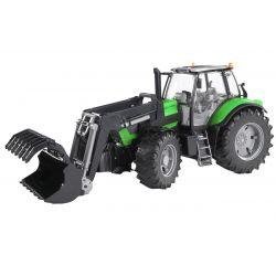 Bruder Traktor Deutz Agrotron X720 3080 med frontlastare och skopa