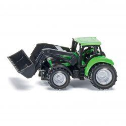 Siku Traktor Blister DEUTZ AGROTRON FRONTLASTARE