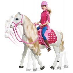 Barbie drömhäst med barbiedocka Mattel