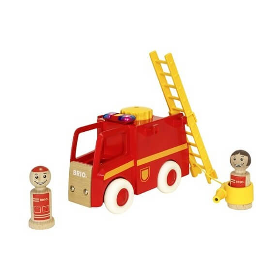 BRIOLight & Sound Firetruck