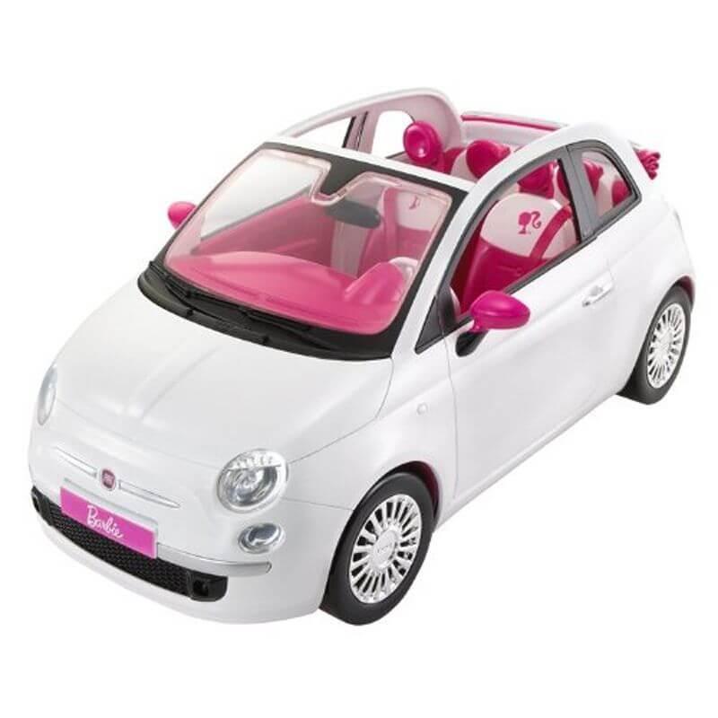barbie spain barbiebil fiat 500 med docka fvr07. Black Bedroom Furniture Sets. Home Design Ideas