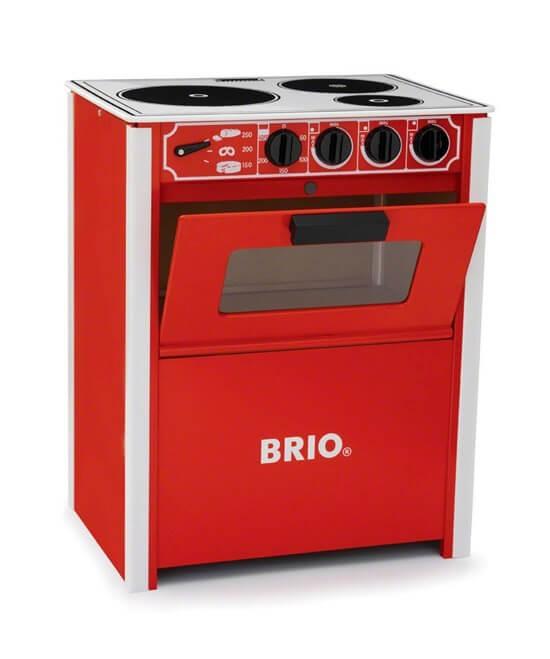 Läs mer om BRIO Klassisk röd spis