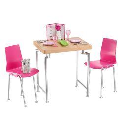 Barbie Dining Room Dockskåp Möbler Matplats