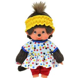 Monchhichi Pyjama Dots Girl 20 cm