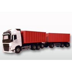 Emek Volvo FH16 750 lastbil med lastväxlare och släp skala 1:25