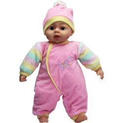 Lovely Baby Docka Rosa kläder och mössa 45 cm