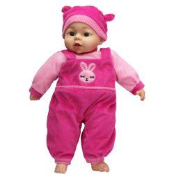 Lovely Baby Docka Cerise kläder och mössa 45 cm