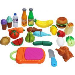 Leksaksmat Picknick med kardborreband 42 delar