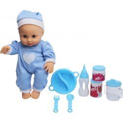 Lovely Baby Docka Baby 32 cm Blå