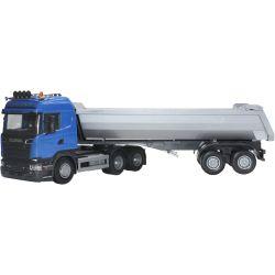 Emek Scania Blå Highline tipplastbil semitrailer