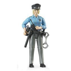 Bruder figur Kvinna Polis 60430