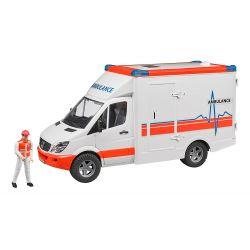 Bruder Ambulans Mercedes Sprinter med förare 02536