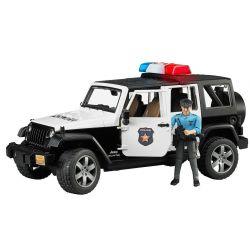 Bruder Polisbil Jeep Wrangler Med Polis 02526