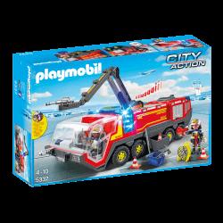 Playmobil Flygplatsbrandbil med ljus och ljud 4796