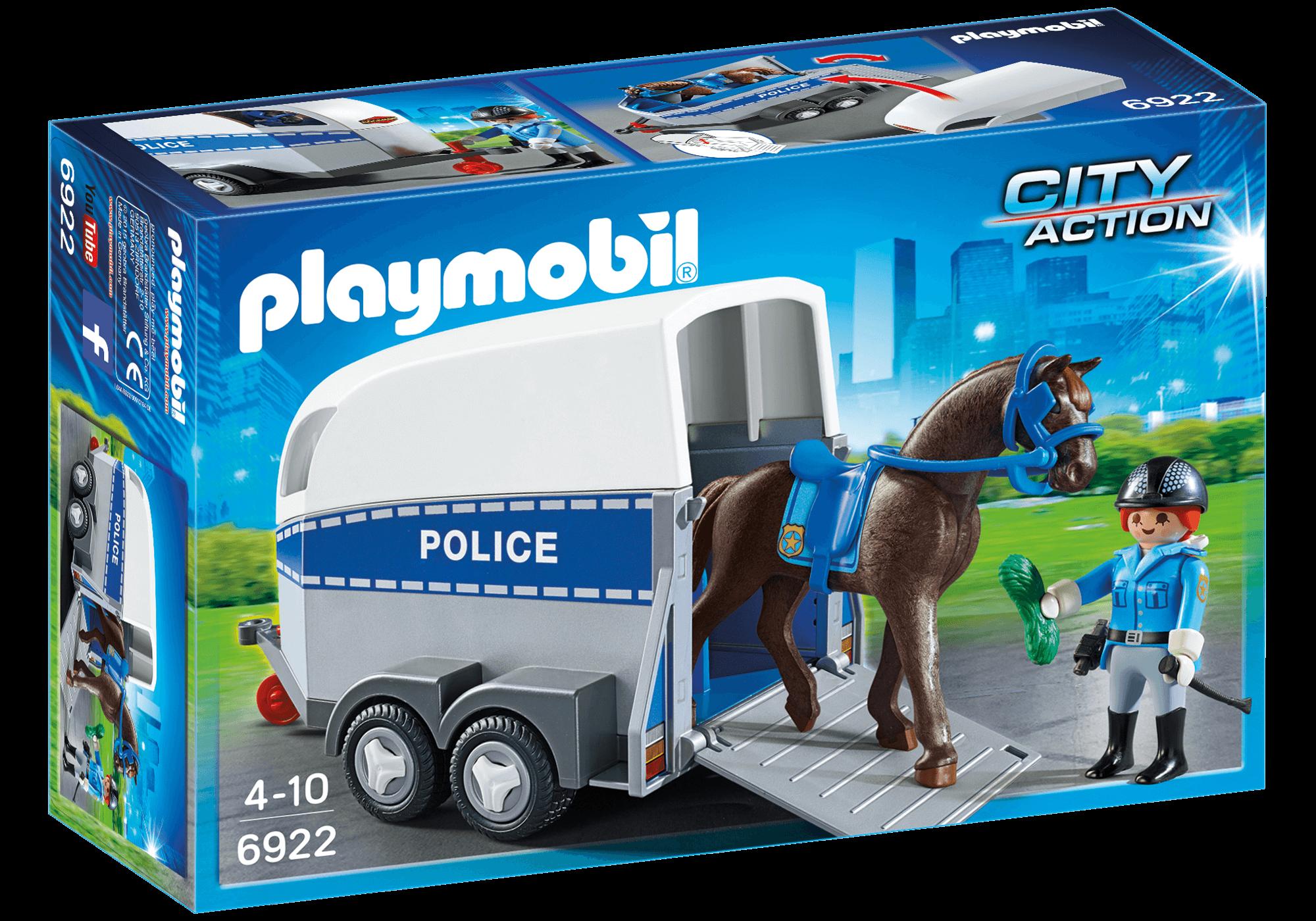 Läs mer om Playmobil Transport till Polishäst 6922