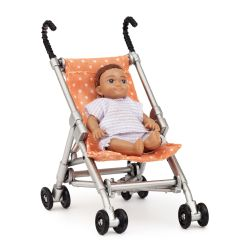 Lundby paraplyvagn och bebis