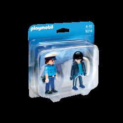 Playmobil Polis Och Inbrottstjuv 9218