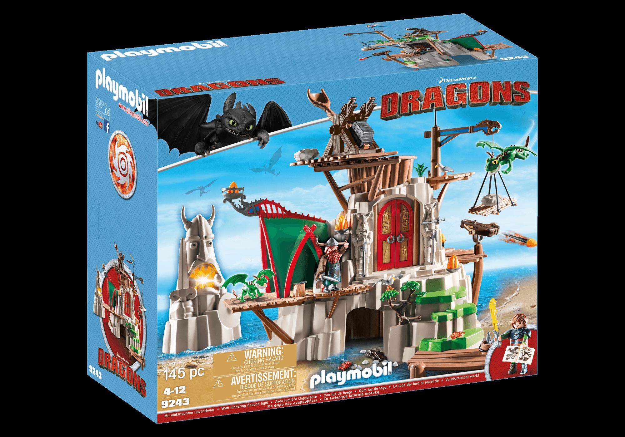 Läs mer om Playmobil Dragons 9243 Dräggö