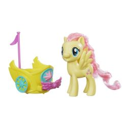 My Little Pony Fluttershy Dash Spin Along Chariot B9836