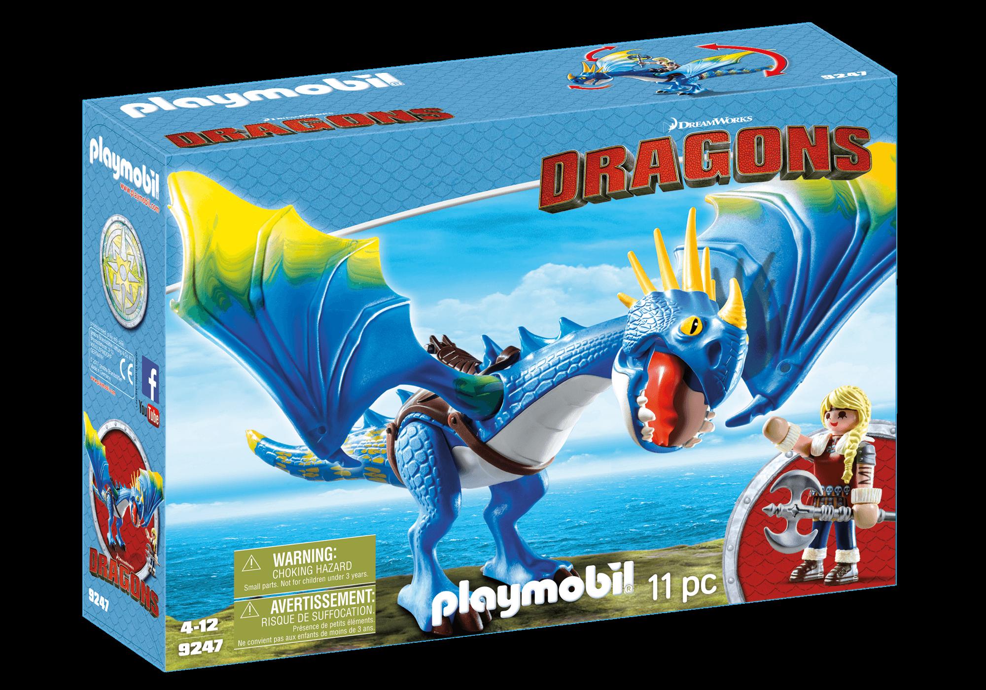 Läs mer om Playmobil Astrid & Stormfly Drake 9247