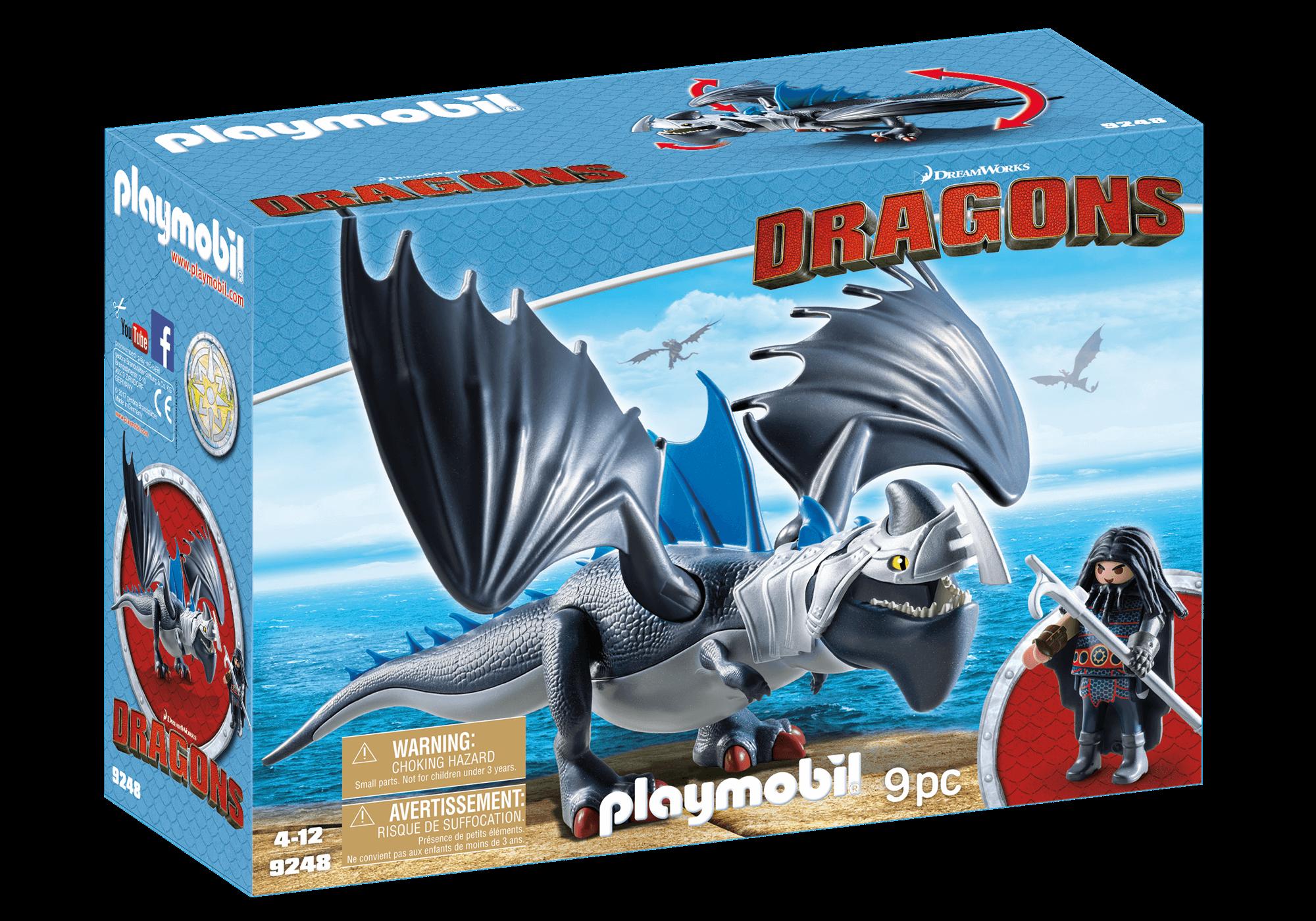 Läs mer om Playmobil Drago Drake & Thunderclaw 9248