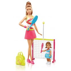 Barbie Careers Tennis Coach Playset