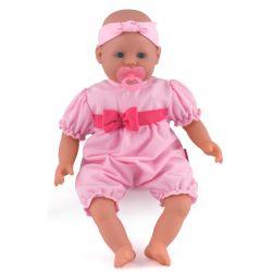Dolls World Docka 46 cm Aimee med napp ljusrosa