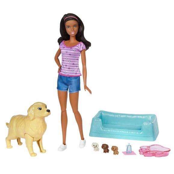 Barbie Newborn Pups Lila FDD44