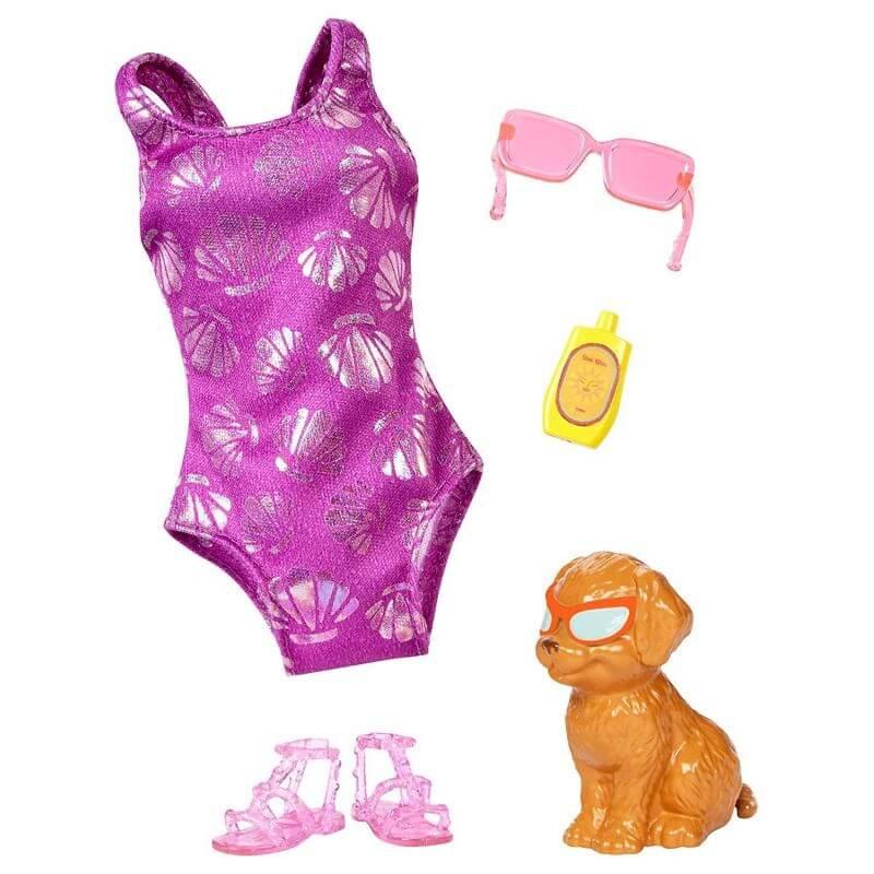 Början Skämt hyra  Köp Barbie Kläder Dolphin Magic Baddräkt FBD85 - Leksakscity.se