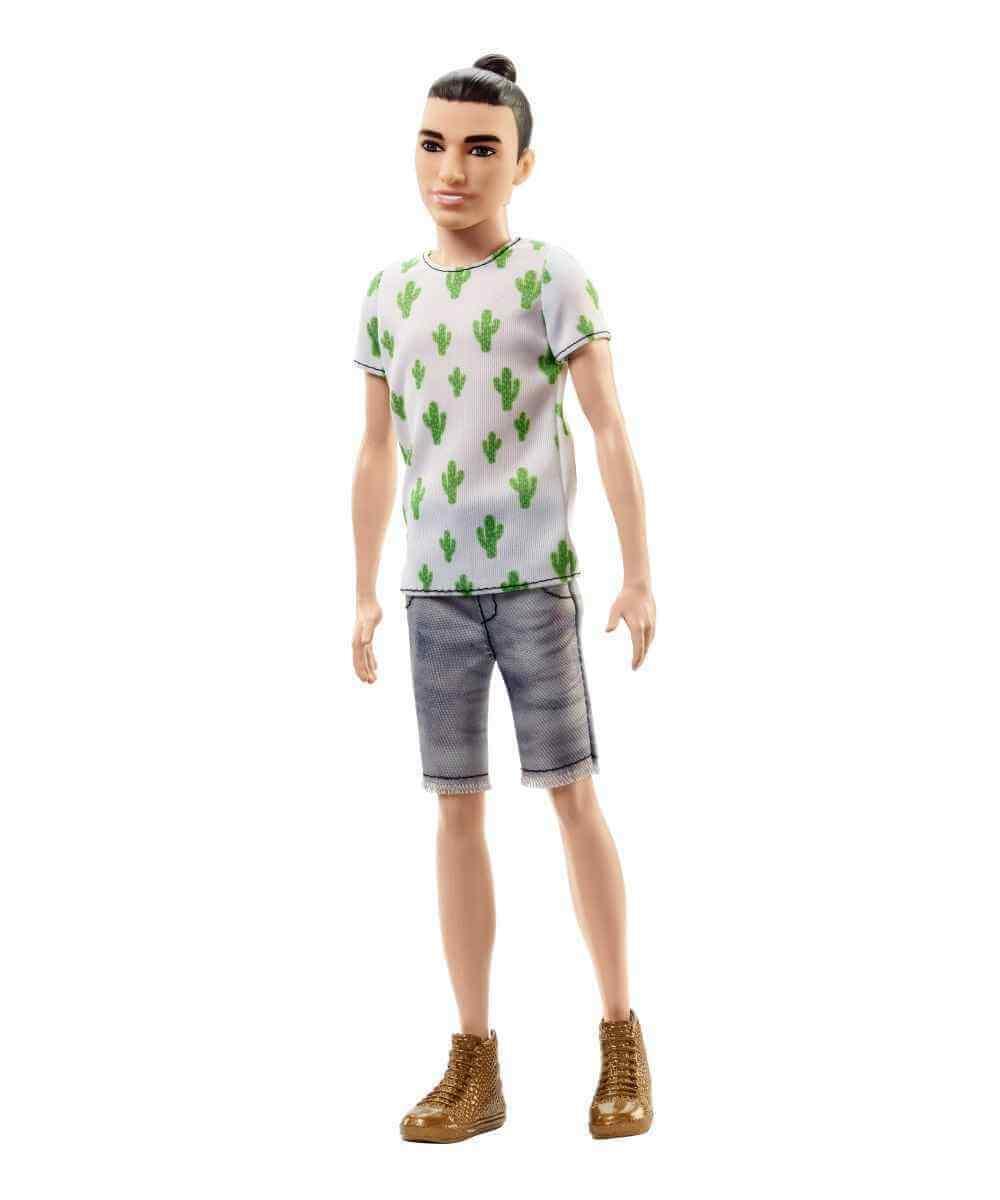 Barbie Ken Fashionistas Cactus Cooler Barbie Mattel FJF74