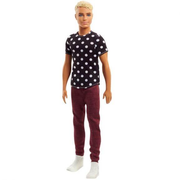Barbie Ken Black and White Ken Mattel FJF72 Fashionistas
