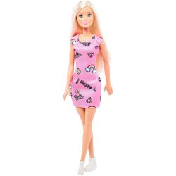 Barbiedocka Entry med turkos klänning FJF13