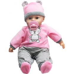Lovely Baby Docka Rosa med ljud 46 cm