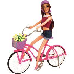Fleur Docka Cykel Set