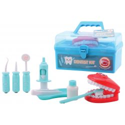 Dentist playset in carry case