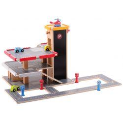 Jouéco® - Garage with accessories 20 pieces