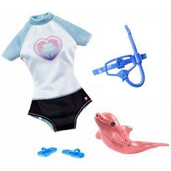 Barbie Kläder Magic Dolphins med delfin FBD86