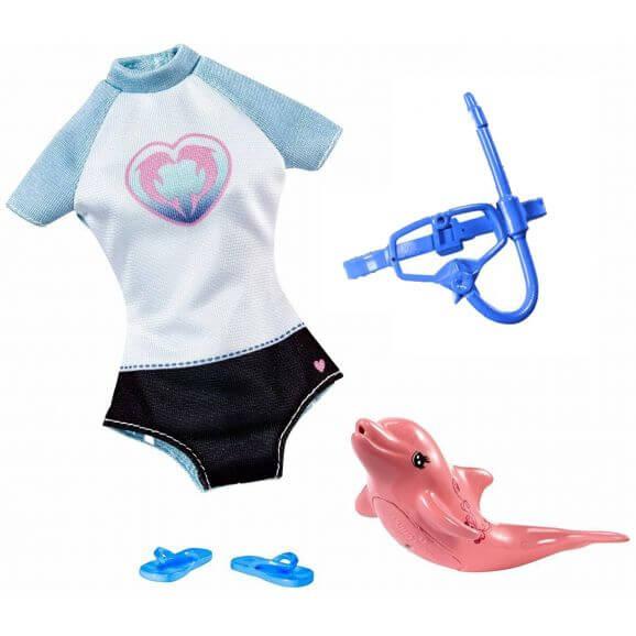 försäkring princip Persona  Köp Barbie Kläder Dolphin Magic Snorkel Set FBD86 - Leksakscity.se