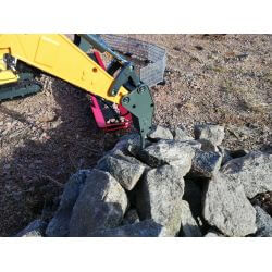 Radiostyrd Liebherr grävmaskin R936 Jamara med rivningsset 1:20 - 2,4 Ghz