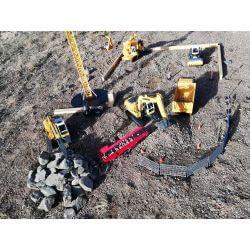 Radiostyrd grävmaskin Liebherr R936 1:20 - 2,4 Ghz