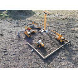 Radiostyrd Vält- och rullmaskin 1:20 - 2,4 Ghz