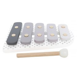 Jabadabado Xylofon grå trä