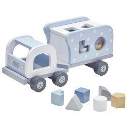 Kids Concept Klosslastbil Blå